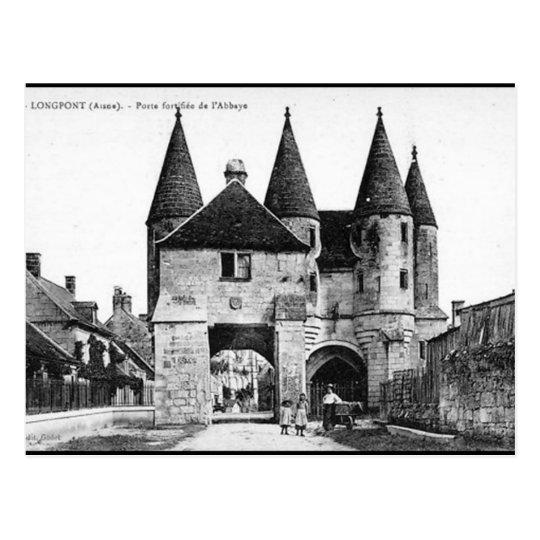 Old Postcard - Longpont, Aisne
