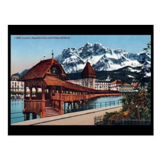 Old Postcard - Lucerne, Switzerland