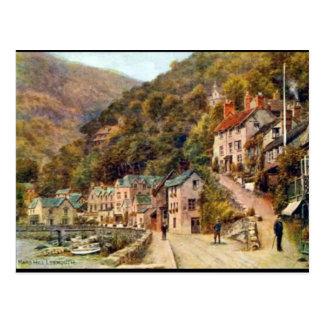 Old Postcard - Lynmouth, Devon