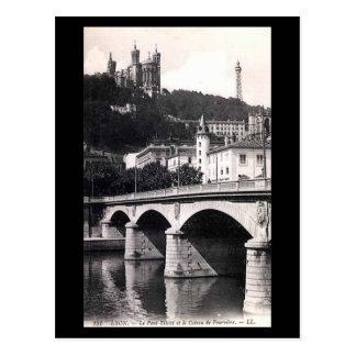 Old Postcard - Lyon, Pont Tilsitt