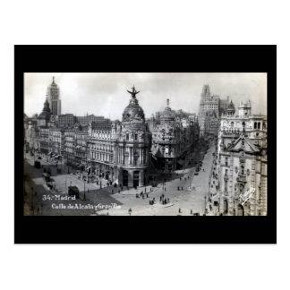 Old Postcard - Madrid