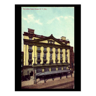 Old Postcard - Manhattan Opera House, 1912
