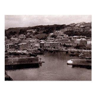 Old Postcard - Mevagissey, Cornwall