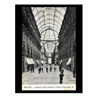 Old Postcard - Milan, Galleria