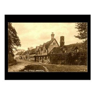 Old Postcard, Mill Street, Warwick Postcard