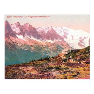 Old Postcard - Mont Blanc, France