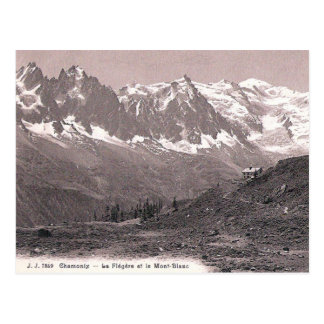 Old Postcard - Mont Blanc, Haute Savoie