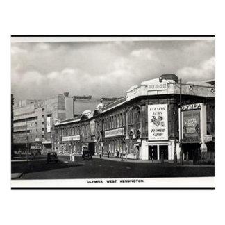 Old Postcard - Olympia, London