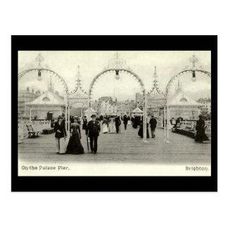 Old Postcard - Palace Pier, Brighton