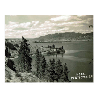 Old Postcard - Penticton, British Columbia, Canada