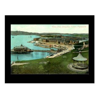 Old Postcard, Plymouth, Devon Postcard