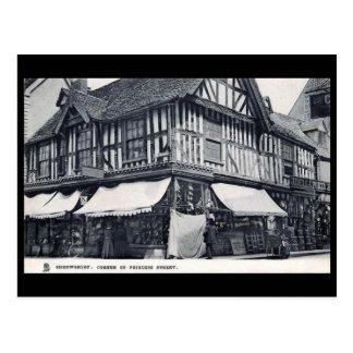 Old Postcard - Princess Street, Shrewsbury