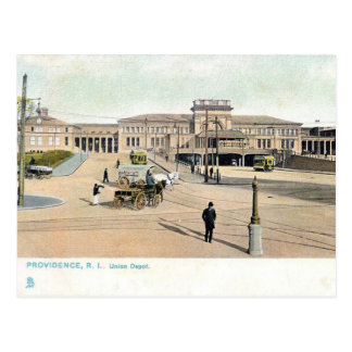 Old Postcard - Providence, Rhode Island, USA
