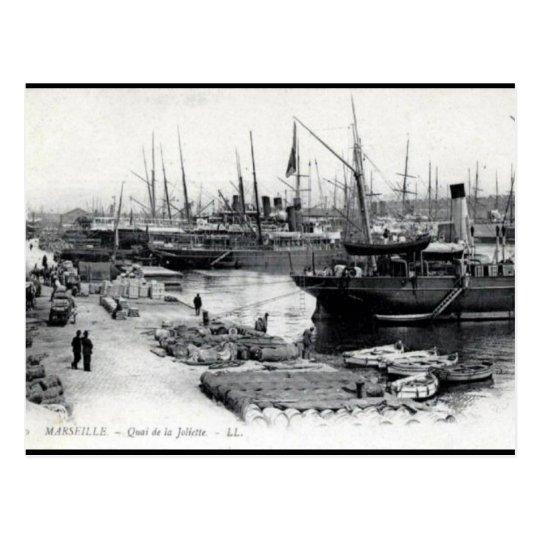 Old Postcard - Quai de la Joliette, Marseille