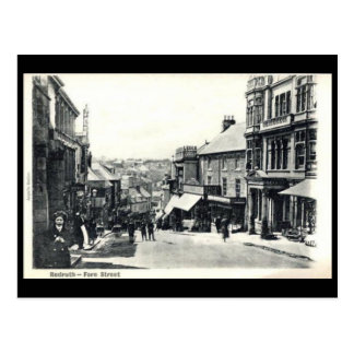 Old Postcard - Redruth, Cornwall