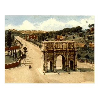 Old Postcard, Rome, the Arch of Constantine Postcard