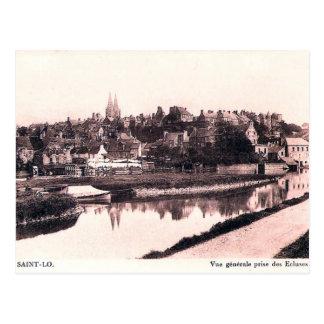 Old Postcard - Saint-Lô, Normandie