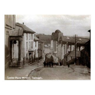 Old Postcard - Saltash, Cornwall
