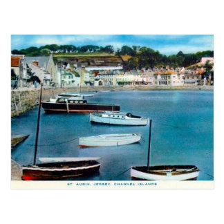 Old Postcard - St Aubin, Jersey, Channel Islands