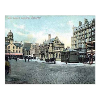 Old Postcard - St Enoch Square, Glasgow