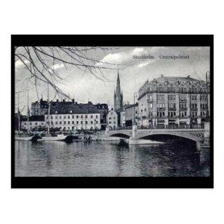 Old Postcard - Stockholm, Sweden