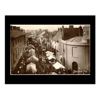Old Postcard, Stratford-upon-Avon Mop Postcard