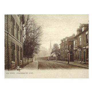 Old Postcard - Stratford-upon-Avon, Old Town
