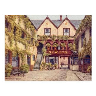 Old Postcard - The New Inn, Gloucester