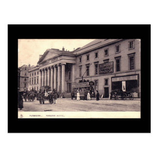 Old Postcard, Theatre Royal, Plymouth, Devon Postcard