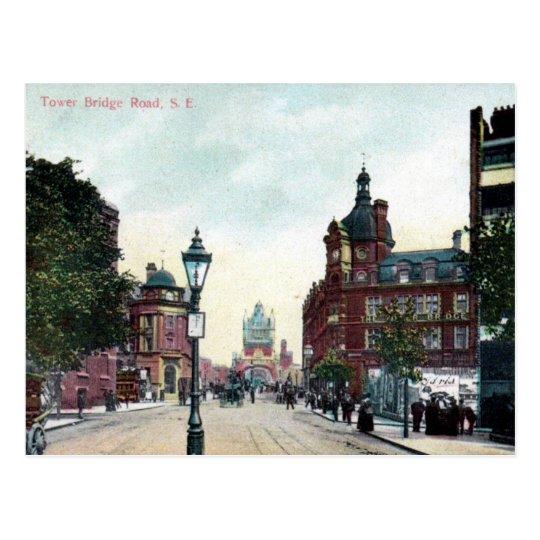 Old Postcard - Tower Bridge Rd, London