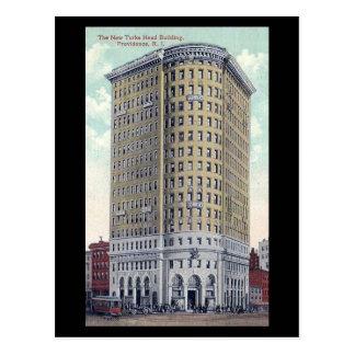 Old Postcard - Turk's Head Building, Providence RI