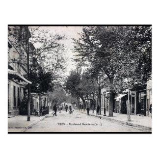 Old Postcard - Uzès, Gard, France