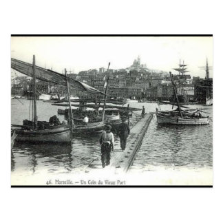 Old Postcard - Vieux Port, Marseille