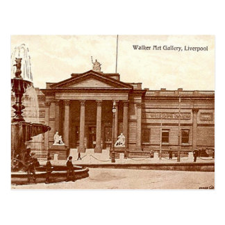 Old Postcard - Walker Art Gallery, Liverpool