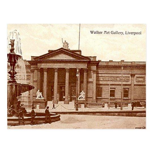 Old Postcard - Walker Art Gallery, Liverpool