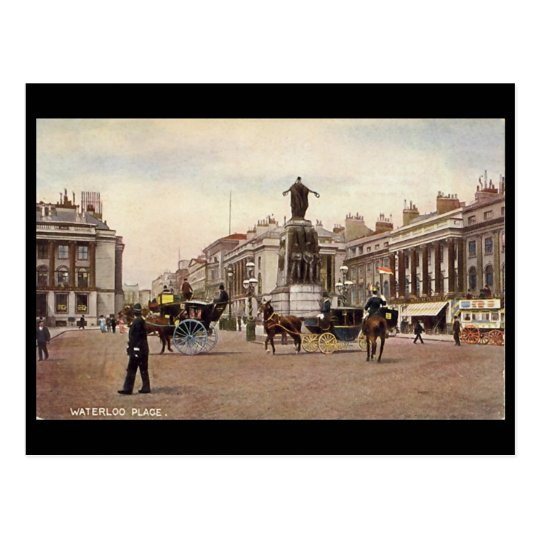 Old Postcard - Waterloo Place, London