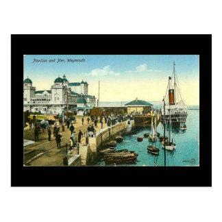 Old Postcard, Weymouth, Dorset, in 1908 Postcard