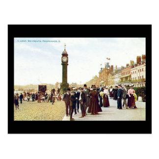 Old Postcard, Weymouth Promenade 1904 Postcard