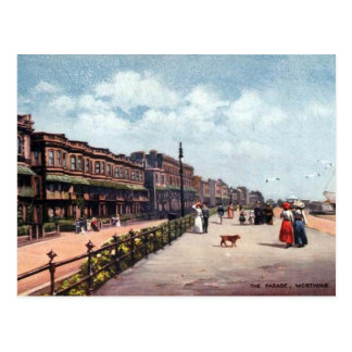 Old Postcard - Worthing, Sussex