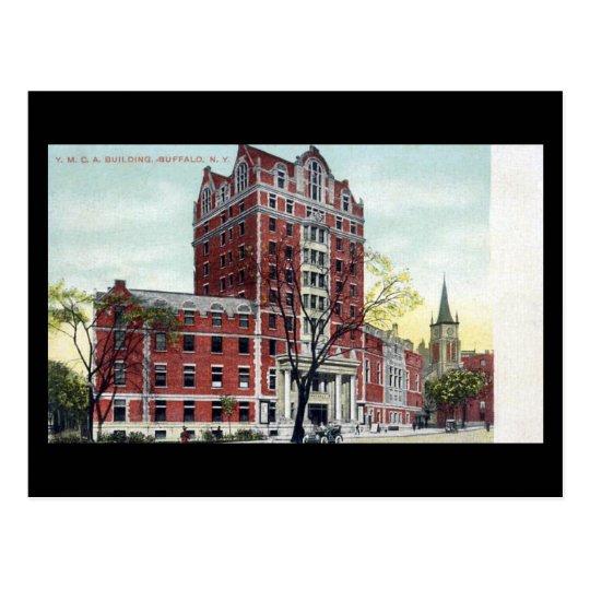 Old Postcard - YMCA, Buffalo, NY