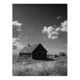 old prairie homestead in Saskatchewan Canada Postcard