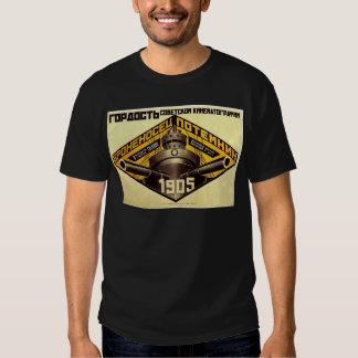 Old Pre Soviet Russian Propaganda Apparel T-shirt