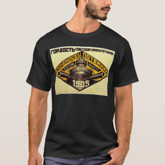 Old Pre Soviet Russian Propaganda Apparel T-Shirt