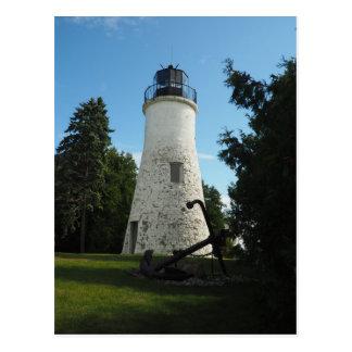 Old Presque Isle Lighthouse Postcard