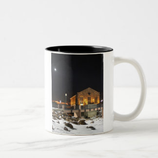 Old Queen Bee Mill in Sioux Falls SD coffeecup Two-Tone Coffee Mug