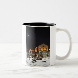 Old Queen Bee Mill in Sioux Falls SD Two-Tone Coffee Mug