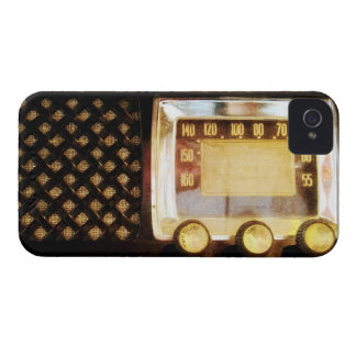 Old radio iPhone 4 cases