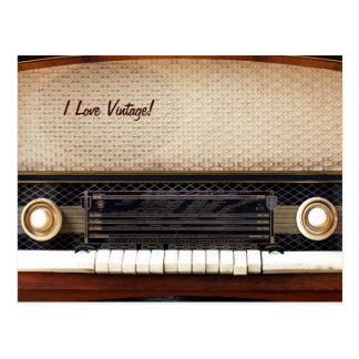 Old Radio Postcard