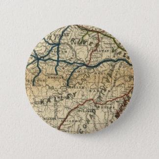 Old Railway Map 2 Inch Round Button