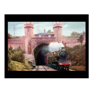 Old Railway Postcard - LB&SCR, Clayton Tunnel, nr